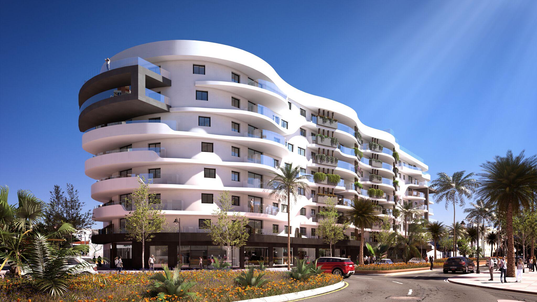Unbeatable Prices! Spectacular luxury residential complex centre Estepona.